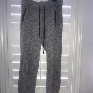 grey joggers | aerie